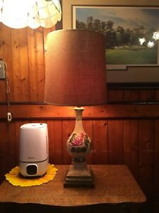 FOR SALE - Antique China Lamp $35 or BEST OFFER