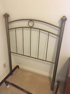 Single Bed Headboard & Frame