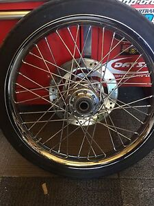 Harley 21 inch front rim and tire