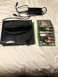 XBOX ONE + kinect + games PRICE NEGOTIABLE