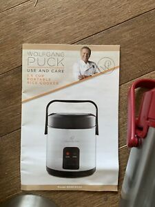 Wolfgang Puck 1.5 cup portable rice cooker/warmer