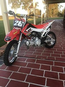 2015 Honda CRF 110 Bligh Park Hawkesbury Area Preview