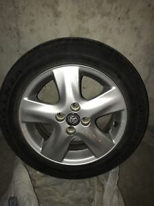 Toyota Rims Mags with tires