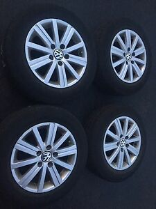 4 VW RIMS and TIRES 195 65 R15     $400