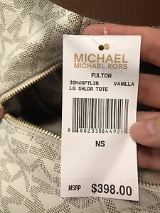 Brand new with tag large Michael kors handbag