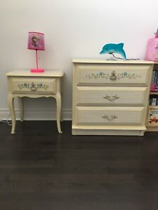 Girls single bedroom set bed included