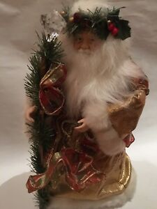 Lavish Retro Santa tree topper 1990's