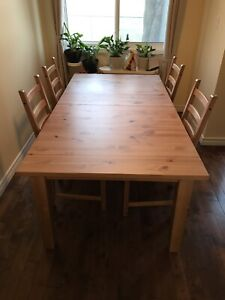 Ikea STORNÄS Extendable table, antique stain