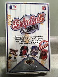 1991 Upper Deck Baseball Cards