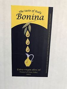 Olive oil and wine direct from the producer Auburn Clare Area Preview