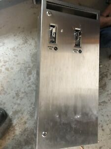 Commercial toilet paper dispenser and tampon dispenser