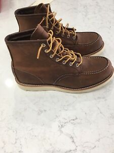 Red Wing Moc Toe Boots New