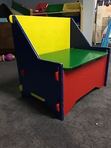Small Toy Bin/Bench