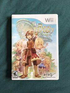 Rune Factory Frontier Wii (complete)