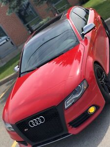 Audi S4 2010 RED on RED Navigation