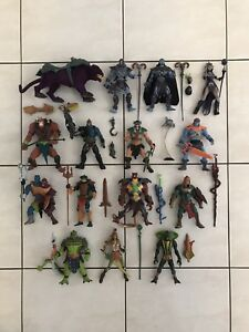 MASTERS OF THE UNIVERSE 200X VILLAINS ACTION FIGURES
