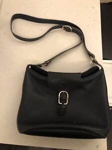 Authentic long champ bag leather