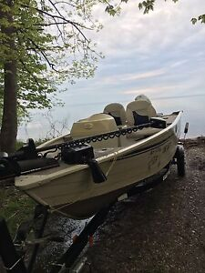 16 ft with 35hp 2001 fishing boat