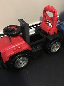 Mega blocks ride on jeep