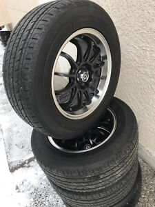 Brand new aftermarket wheels & tires