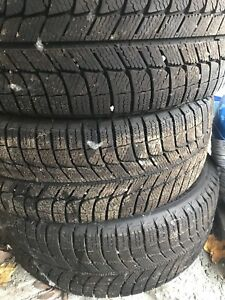 Pneus 225/50/17 Ice x michelin
