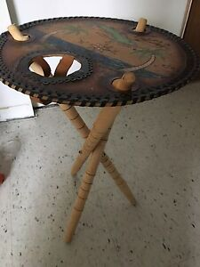 Side table from Cuba