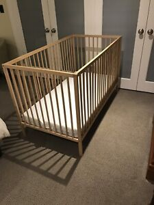Excellent used condition ikea crib