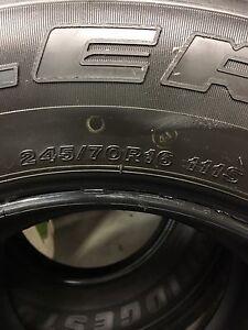 4 x Bridgestone Dueler Tyres 245/70R16 Tweed Heads Tweed Heads Area Preview