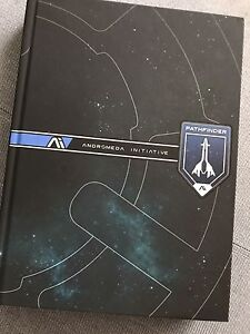 Mass effect andromeda pathfinder collectors edition guide book