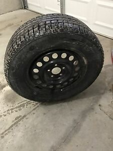 Winter tires with rims 235/65R16
