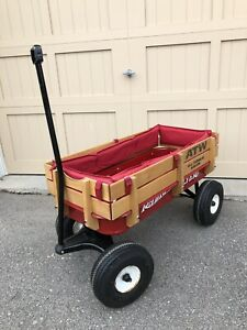 Radio Flyer full size all terrain wagon with cushions
