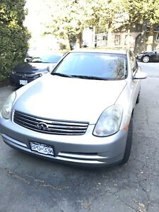 Silver 2004 Infiniti G35x for sale