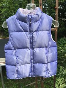 GAP Blue and Purple Winter Vests