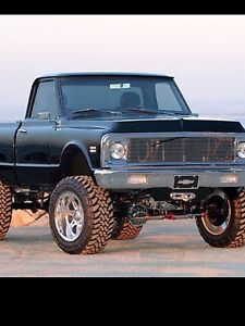 67-72 Chev or GMC 4x4 chassis wanted