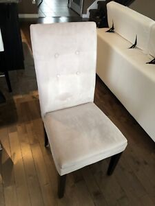 Dining Table Chairs 6 pc