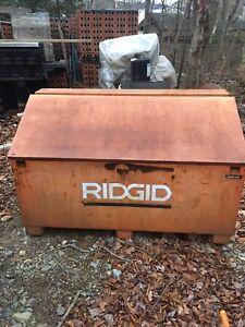 Ridgid job site storage box