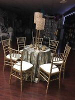 CHIAVARI CHAIRS Rentals For Wedding & Events $5