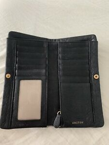 Leather Oroton wallet