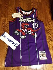 NEW Mitchell & Ness. Vince Carter Raptor Jersey. Size 36 (Small)