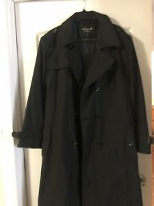 Men from Italy long coat for sell like new ($150