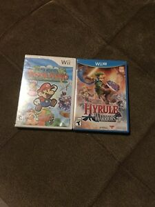 Hyrule Warriors and Super Paper Mario