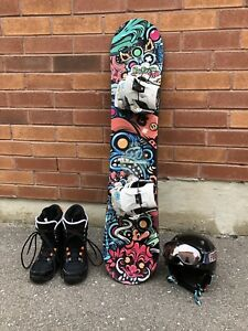 Awesome Youth snowboard package