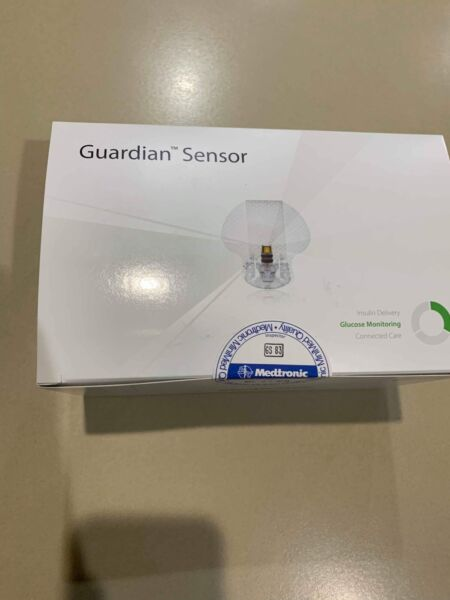 Medtronic Guardian Sensor 3 (Box of 5) Expiry 29/
