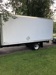 18 foot aluminum truck box