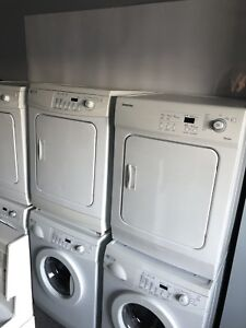 DISCOUNT APPLIANCES: Apartment sized washer & dryer set