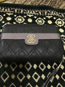 Guess wallet black and gray