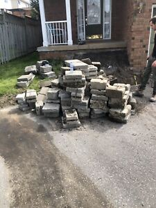 Need tore up interlock removed from driveway ASAP. Free fill