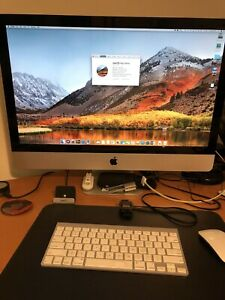 "iMac 27"" mid 2011 in good condition with wireless keyboard/mouse"