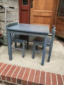 Children's IKEA table & 2 chairs
