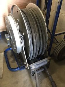 Twin Hydraulic Retractable Spring Hose Reel with 50ft